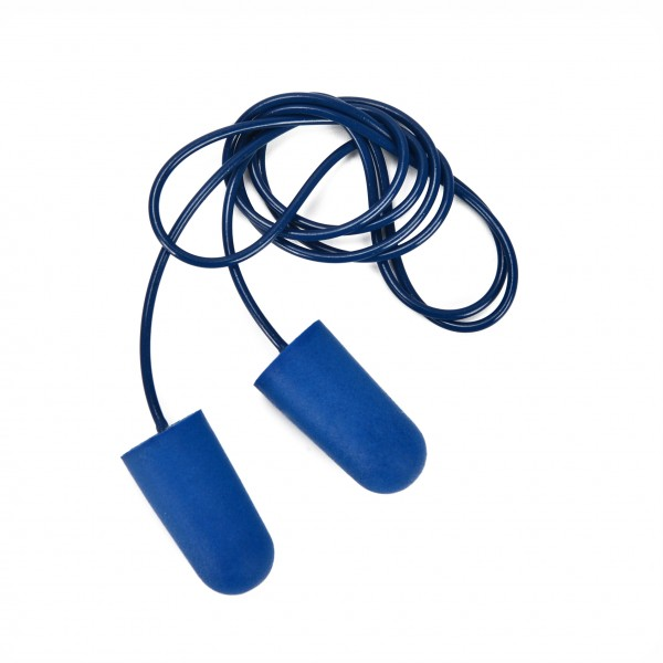 Corded Safety Foam Ear Plugs